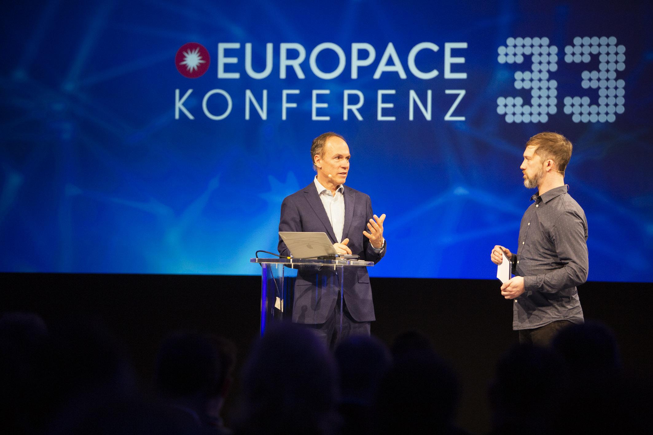 33. Europace Konferenz: Die Plattformen machen den Umsatz - Disruptive Geschäftsmodelle für veränderliche Zeiten