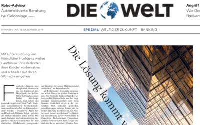 KI: Die Lösung kommt vor dem Problem – Welt-Artikel vom 12.12.19