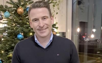 Weihnachtliche Grüße von Stefan
